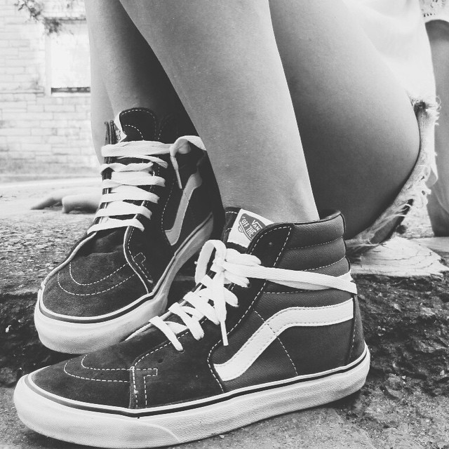 The original Sk8-Hi ⚡️ #BeTheOriginal #VansGirls