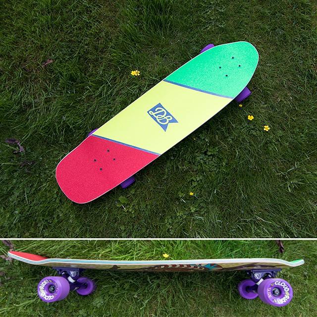 A brand new custom Diamondback! Build your own at DBlongboards.com/build #longboard #longboarding #longboarder #dblongboards #goskate #shred #rad #stoked #skateboard #skateeveryday