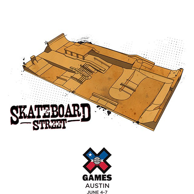 Welcome to our playground!  Click the link on our profile page to peep illustrations of all of the 2015 #XGames Austin courses.