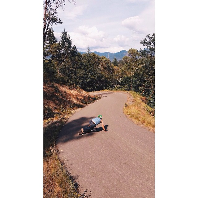 @fillbackside taking runs in beautiful Oregon.
