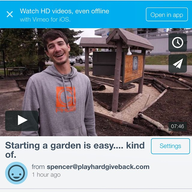 Starting a garden is easy... Kind of. Hear more about the struggles that we encountered with the city to make it happen. Link in bio!