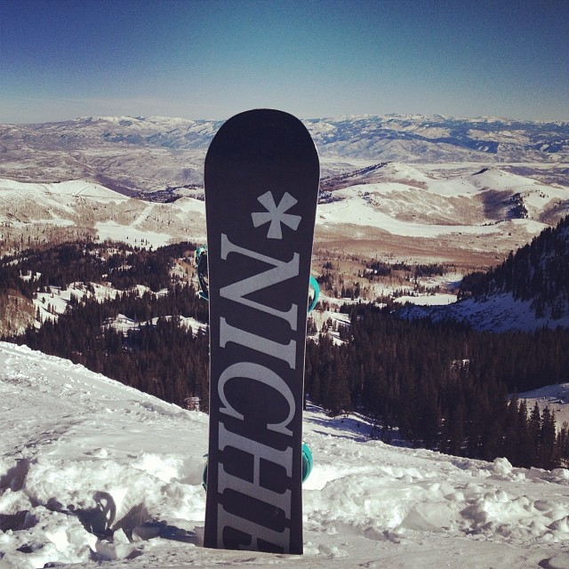 Beautiful day for a hike up in the @brightonresort sidecountry!
