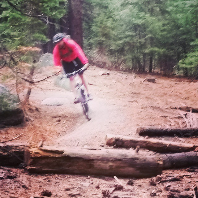 Gettin' at it on Sidewinder.  Powerline to Sidewinder to Corral.  Another great ride in tahoe.  #laketahoe #mtb #getoutdoors #rideyourbike #graniterocx #tahoesouth #tahoeadventuresrock