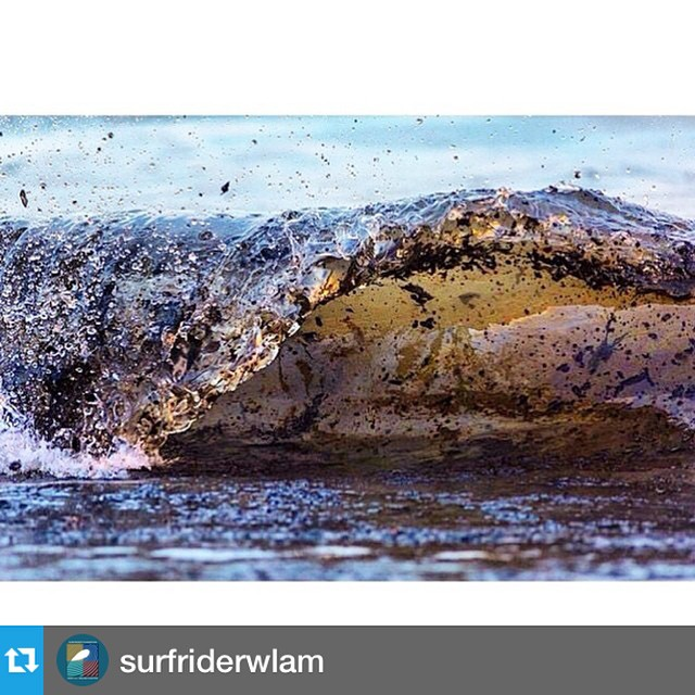 It's extremely difficult to see evidence of the destruction of our ocean environment. This is a place we  enjoy to spend our time, and a place we need to fight to protect! See repost below from @surfriderwlam on how we can all make a difference to stop...