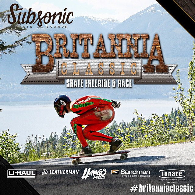 This weekend May 22-24 the 8th @britanniadh is back in Canada with one of North America's most aggressive, technical & challenging downhill skateboard races and freerides.  Go to longboardgirlscrew.com for all details Big ups to @leecation for putting...