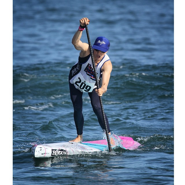 #tbt to last weekend at the ISA Worlds. This is what we call #beastmode ladies and gentleman. #RachelBruntsch #roguesup #sup
