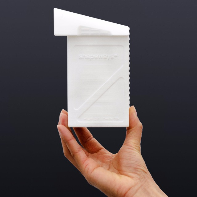"""Designed by Adam Savage (@donttrythis), this 3D printed #DJI #inspire1 battery shaped box shows you the innovation and power of 3D printing with @shapeways.  Got an idea for a DJI product accessory just like Adam? Why not enter the #Shapeways """"Take..."""