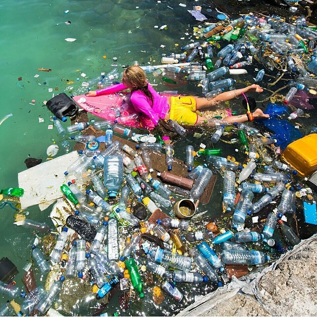 "We are excited to be heading to @patagoniasm next Thursday, May 28 at 7pm for our friend  @alisonsadventures screening of her new film, ""One Person's Trash is Another Woman's Bikini!"" Her short film follows her quest to document the forbidden 'Trash..."