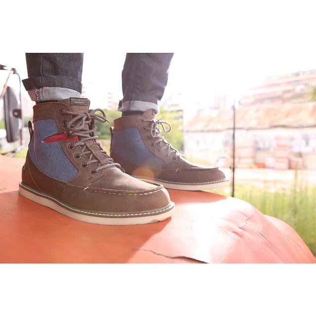 Berrington Brown-Blue #Volcomfootwear #AW15 #TrueToThis