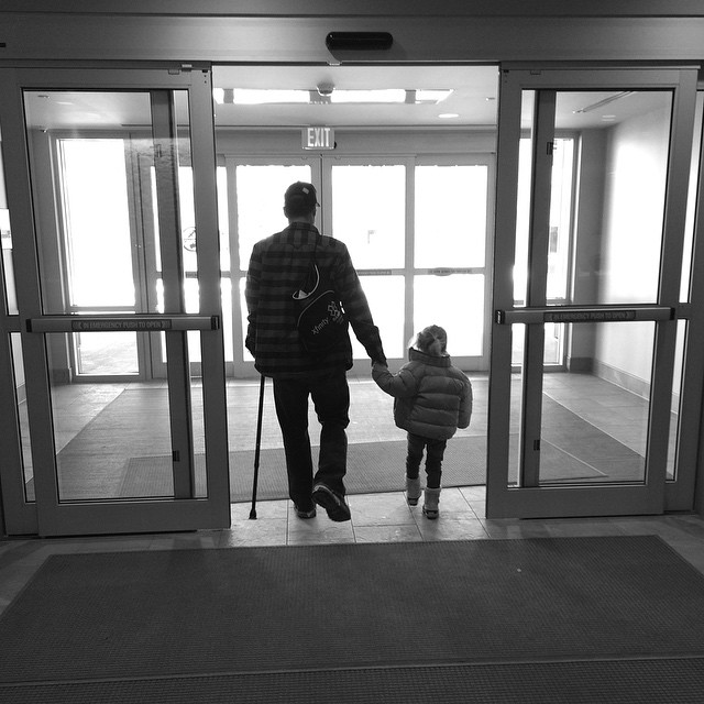 #FlashbackFriday to when #HighFivesAthlete, Eric Z #walked out of #CraigHospital in February