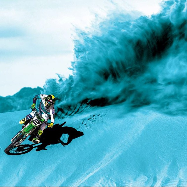No one does it better than the King.  @jeremymcgrath2 #SEEHAPPY