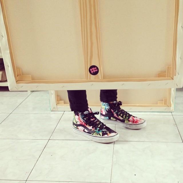 Los pies son de @holapumpum
