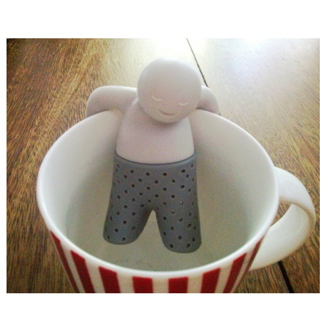 Mi hermana me mima ♥ #giuseppino #tea #infuser #teainfuser #iloveit #inlove #happy
