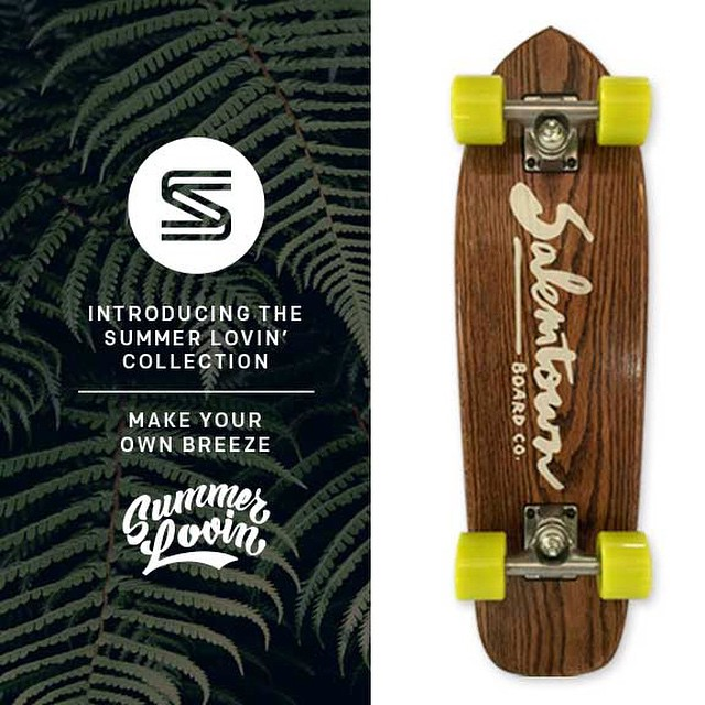 Clean, simple, classy. The Sonny #cruiser is now live on the website. #Nashville #skate