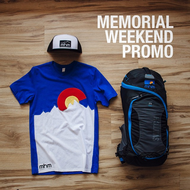 Now through the end of Monday, buy any pack from our site or in our store and get a free tee & hat! Sounds like a win-win if we've ever heard one. Leave a note in your order with size and gender shirt. Link in bio. #MemorialDaySale #PacksElevated...