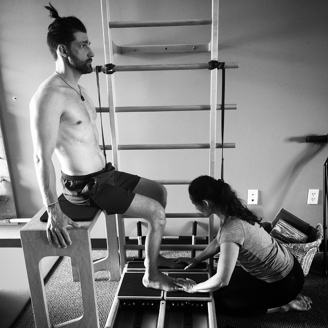 Equal parts stoke and focus equals productive #SpinalCordInjury recovery - @shawnakorgan and are always grateful and excited working with @cotapilates and the #BodyWellnessHawaii team | #HighFivesAthlete | #ChoosePositivityNow.com