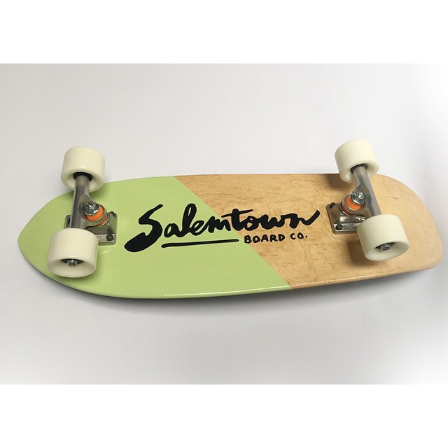 The Summer Lovin series officially launched this morning. Check out this beauty at salemtownboardco.com #handmade #skateboards #Nahville #MadeInTheUSA