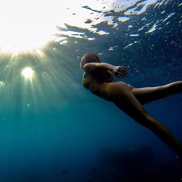 Go towards the light!  Shot on an @gopro by @hisarahlee  @odinasurf