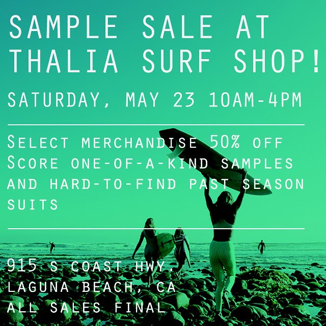 Epic treasures at Seea sample at @thaliasurf today only! Score 20% off Seea at Thalia all weekend long! ☀️