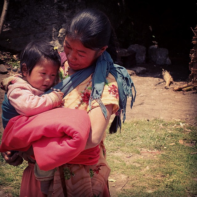 Mother and her baby after receiving a blanket and tent during our recent distribution of emergency shelter for 600 homeless families in two districts in the Solu Khumbu/Everest region. #workfornepal #prayfornepal #nepalearthquake #nepal #estwst