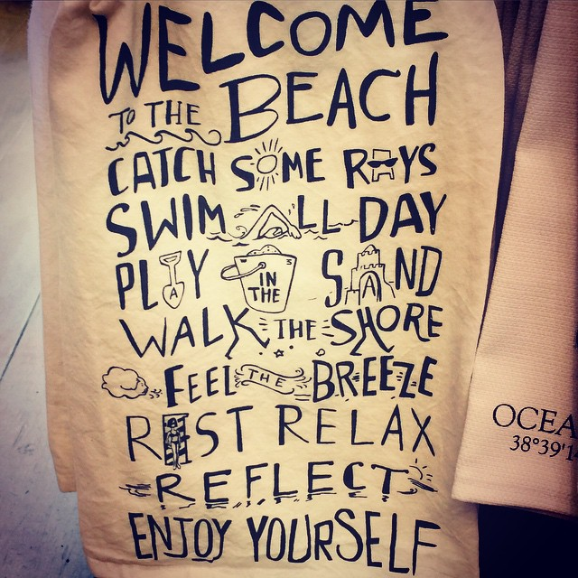Welcome to the #beach enjoy yourself #findthesun #seacrets #waveborn #ocmd