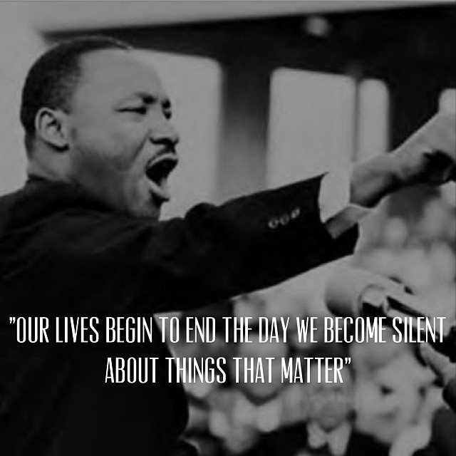 Today we remember Dr. Martin Luther King. #mlk #cuipo #saverainforest