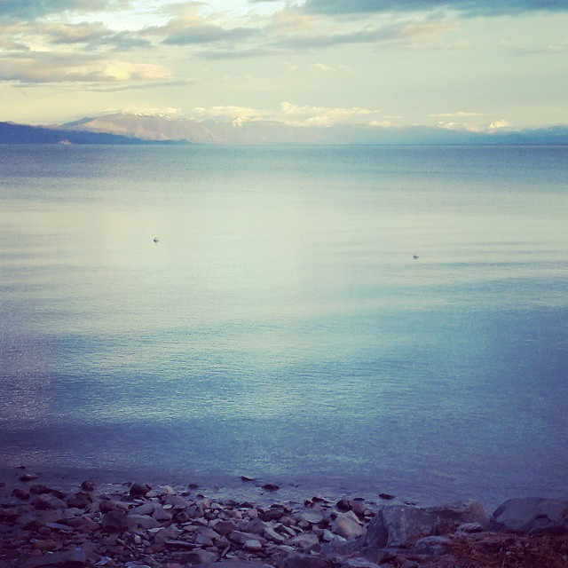 Drive home from the North Shore.  @tahoenorth #lovelaketahoe #MadeinTahoe #graniterocx