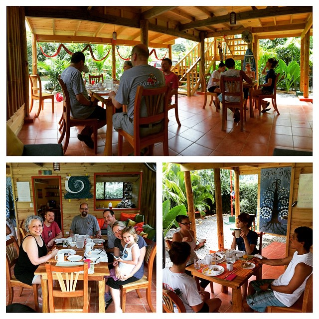 Alegria: a place to drink copious amounts of coffee, eat until you can't eat anymore, and create new friendships!