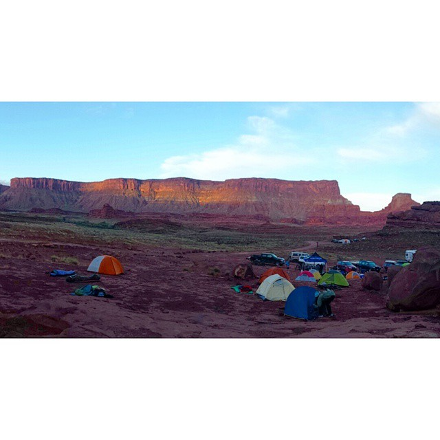 What a beaut  The spontaneous weekend in Moab with @skijumpersc and @_lilwolfey_ was a success