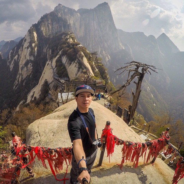 Photo of the Day! Hiking the most dangerous trail in the world. Photo by Thong Tieu. #GoPro #goprooftheday #epic  Have an epic photo like this? Share it with us by clicking the link in our profile.