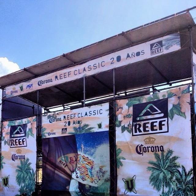 Ya está todo listo para arrancar con el Corona Reef Classic 14, primer llamado Martes 21 a las 8am en Playa Mariano. Te esperamos! #reefargentina #reefclassic14 #mardel