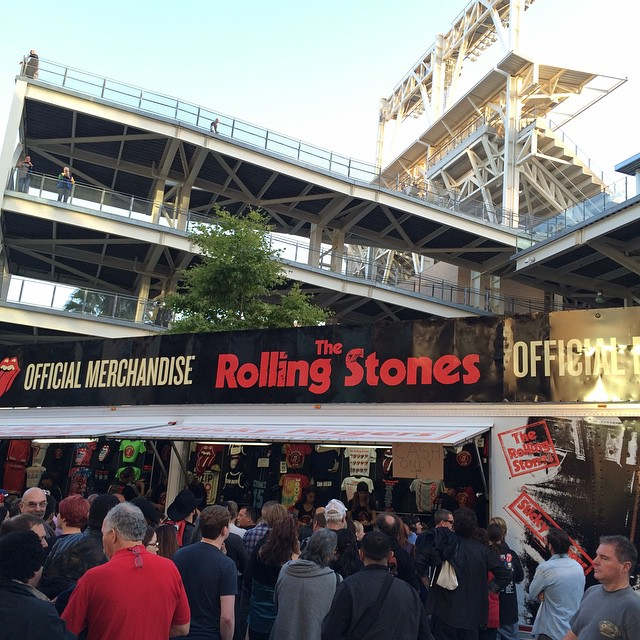 The Stones are in San Diego. #therollingstones #sandiego #prolificgeneration