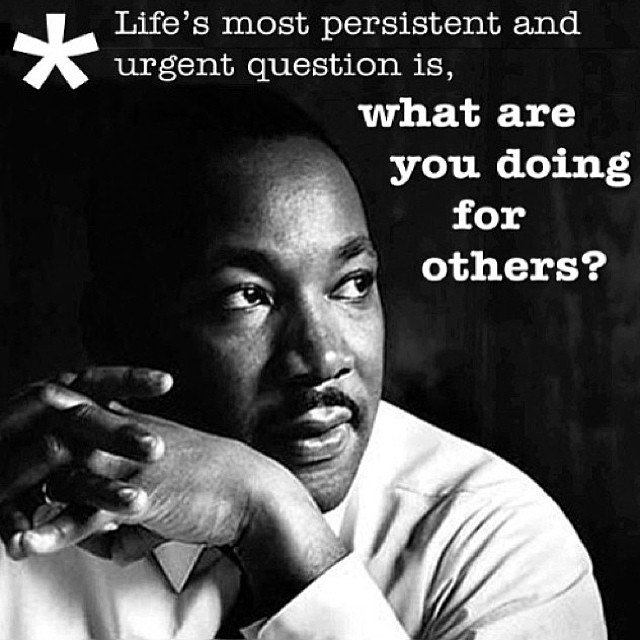 Happy #MLK day, and happy birthday to a legend!  Wise words from one of the most influential leaders in American history. #inspired