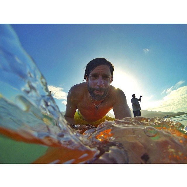 #RiseAndGrind - today is going to be a magical day with the @hi5sfoundation #H5TheWave #HighFivesAthletes getting in the water this morning!! | @gopro | @lululemon | @redbullaloha | @bigtruckbrand | #ChoosePositivityNow.com