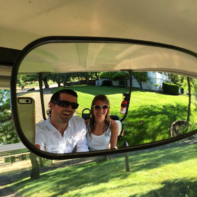 So fresh 'n so clean #summerwhites #ranchlife #summer#memorialdayweekend #napa #offthegrid #golfcart