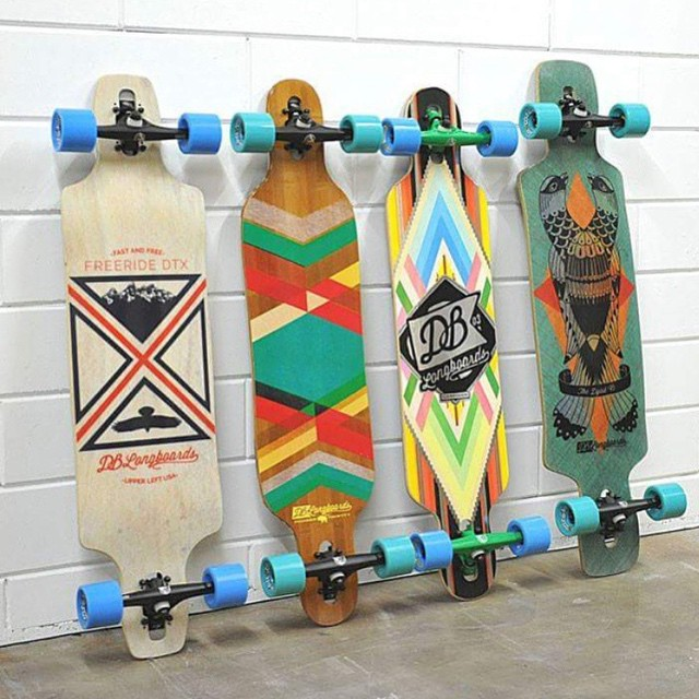 A collection of our longboards at @sickboardslongboards in the Netherlands. Check them out at: sickboards.nl #dblongboards #longboards #betherlands #sickboards