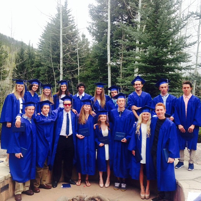 There's two SOSers in this group! Congrats to Oliver and Josue on your graduation from @vailskiacademy last week! So proud of all our highschool graduates!