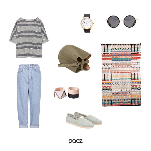 How to pull off a laid-back look on a busy Tuesday. #Paez #Denim #Style #fashion #shoes