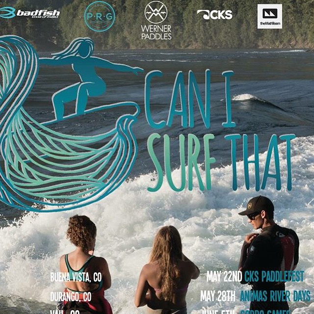 Next stop! Durango Colorado for @bp_sups and I #CANISURFTHAT CLINIC on Thursday and Friday. If you're in the area, we would love to have you join us!! Email me Nautiloidz@gmail.com. see you on the water!! @badfishsup @canisurfthat @boardworkssurfsup...