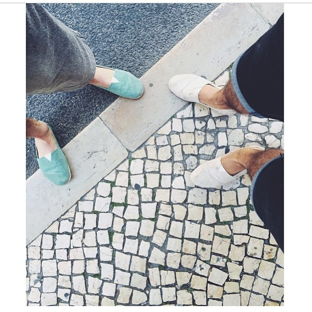 Those tiles are from... Guess what city this is? #Streetstyle #fashion #Paez #Regram @omartim