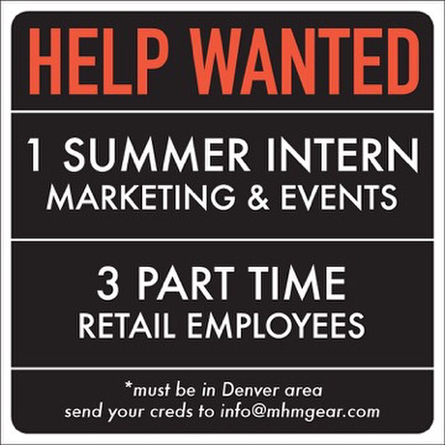 Now hiring! We're looking for a Marketing/Events Intern for the summer. Don't need to receive credit. Unpaid. Lots of fun. We're also on the hunt for up to 3 outgoing part-time Sales Associates to help run the shop and sell some packs! Paid...