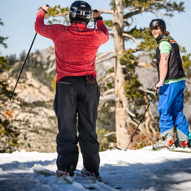 Why be ordinary when you could be extraordinary! Follow along side one veteran's journey of reconnecting to skiing | link in bio | #marines #troops #redwhiteblue @adaptivetrainingfoundation @disabledsportstahoe @squawalpine
