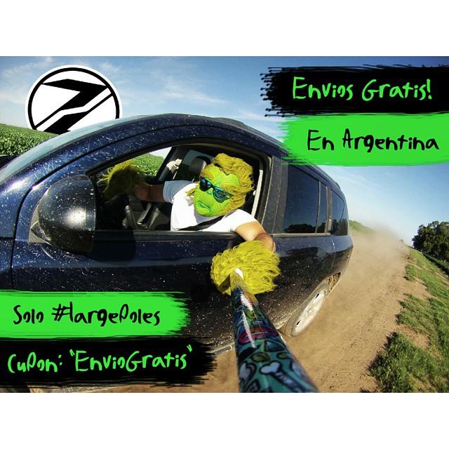 Hoy comprando un #ZephyrPole tenes ENVIO GRATIS, solo en Argentina !!