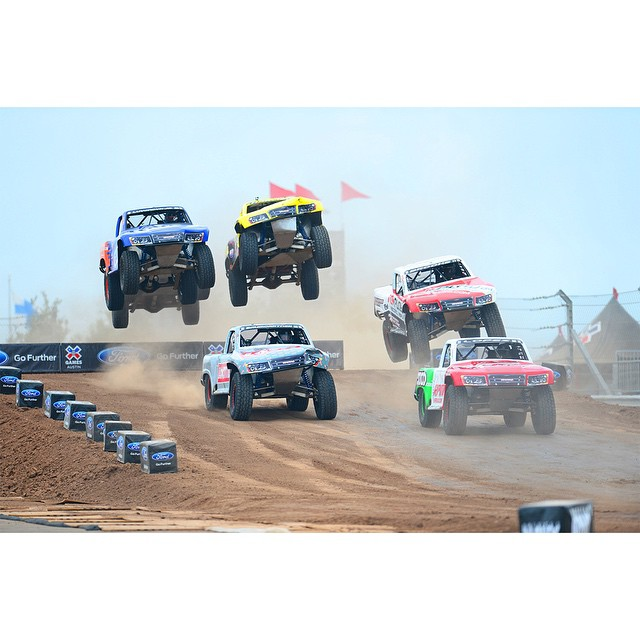 #XGames Off-Road Truck Racing • Robby Gordon • Apdaly Lopez • Travis Pastrana • Jeremy Stenberg • E.J. Viso • Rusty Wallace • And More