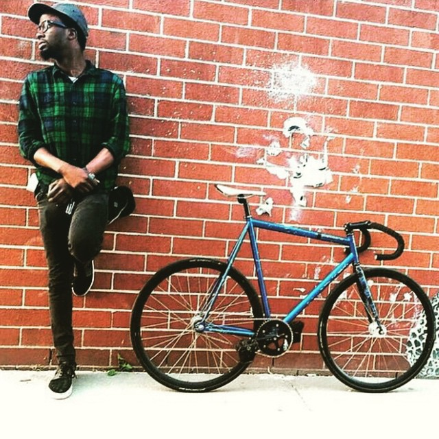 That's one hot ass bike #fixedgear #fastlife #fixiefamous photo by @alleycatsnyc