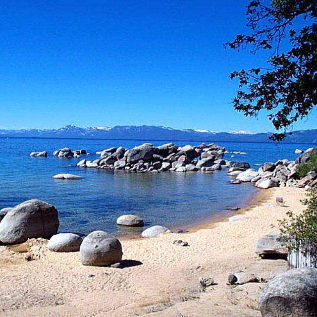 The sun is back and has us stoked for summer! For this week's #whereon89 name which Tahoe beach this is and be entered to win a #CA89 goodie bag!