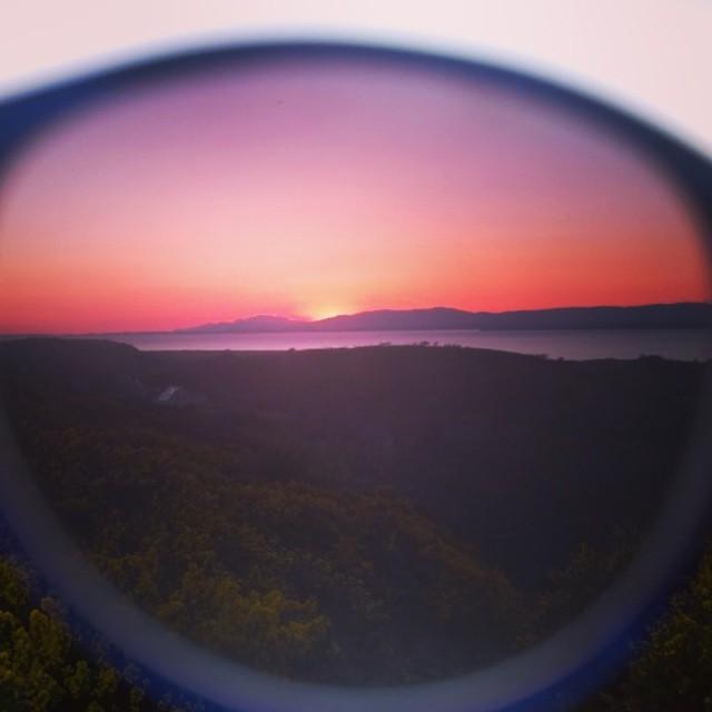 Through the looking glass #sunset #ireland #waveborn