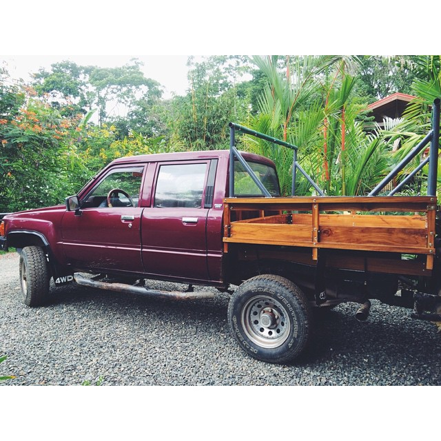 Our truck, Merlot, got a much-needed #revamp recently! #repair #reinvent #repurpose