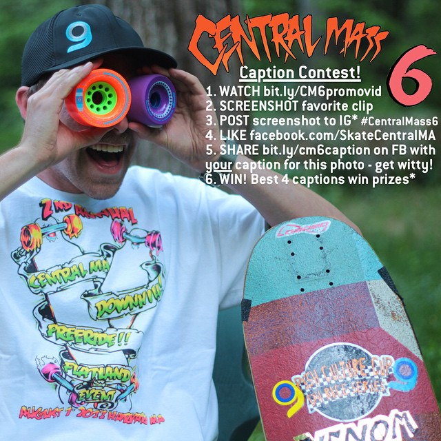 Here's your chance to win some awesome prizes (including a #Cantellated #Tesseract or your choice of @orangatangwheels)... and all you have to do is get stoked for #CentralMass6! Follow the link in our profile to check out the CM6 promo vid and get...