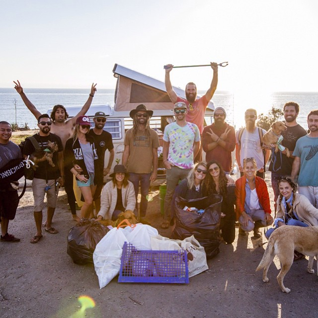 A massive thank you goes out to all the Conscious Adventurers that came out to support our first collaborative beach clean up